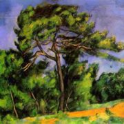 Paul Cezanne. The Great Pine