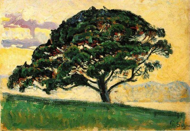 Paul Signac. Pine. Saint-Tropez