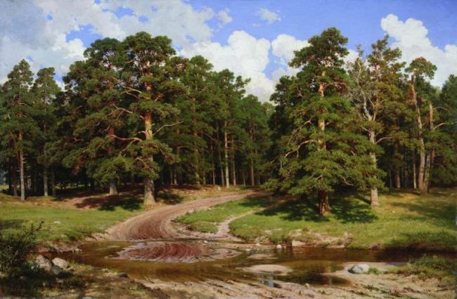 Pine Forest. Shishkin Ivan Ivanovich
