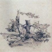 Pines by Alexey Savrasov
