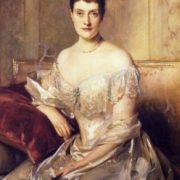 Portrait of Mrs Mahlon Day Sands