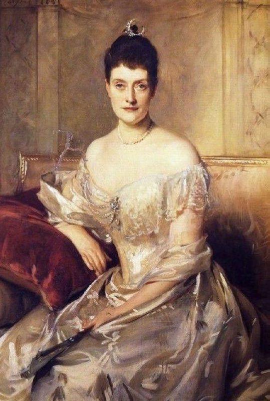 Portrait of Mrs Mahlon Day Sands