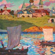 R. Vovkushevsky. Ancient Novgorod