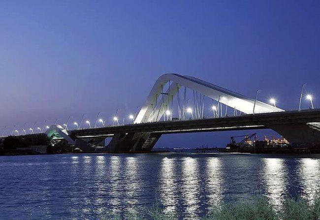 Sheikh Zayed Bridge, United Arab Emirates, Dubai