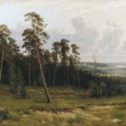 Shishkin. Edge of the forest
