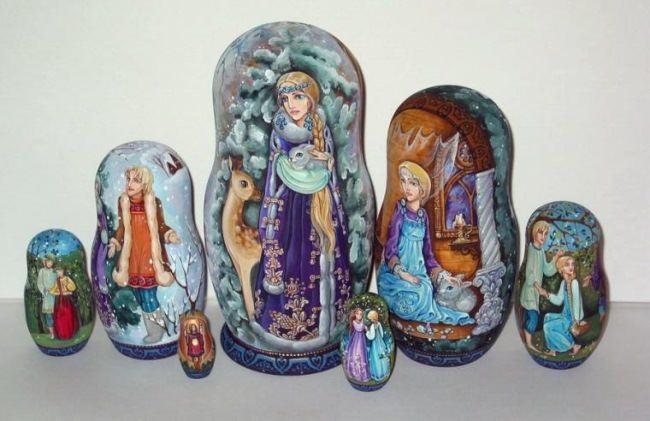 Snow Maiden. Elena Labuzova