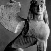 Sphinx. Athens. Marble. 570 BC