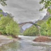 The bridge of Konitsa, Greece