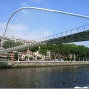 The famous architect Santiago Kalatravit built the White Bridge in Spain