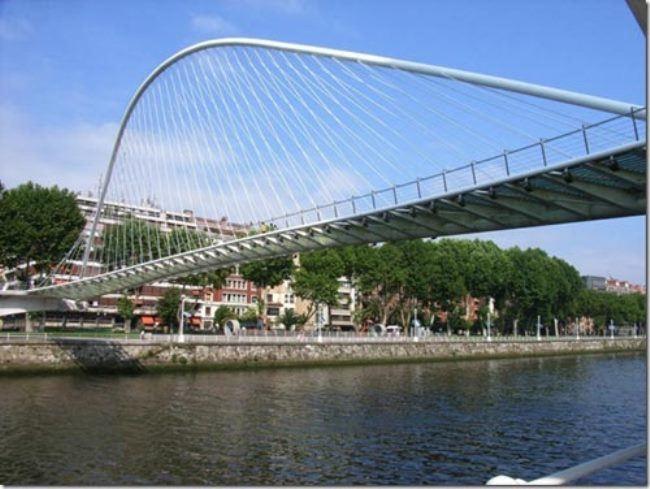 The famous architect Santiago Kalatravit built the White Bridge in Spain