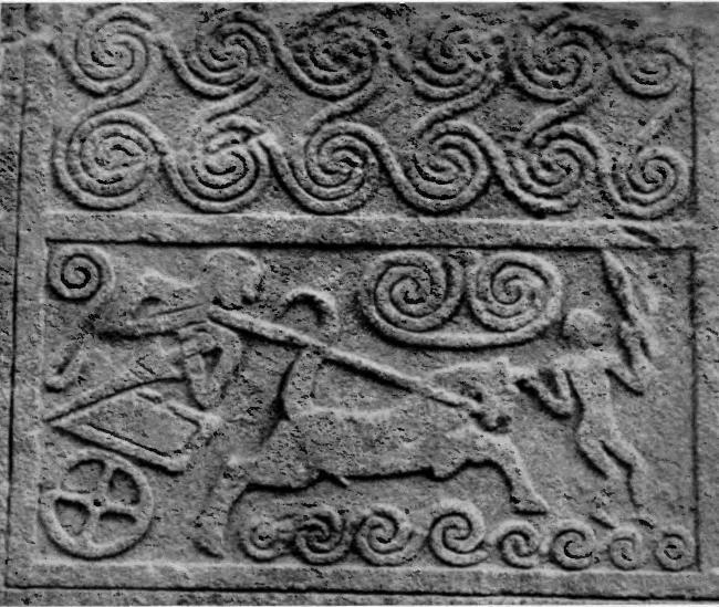 The grave stele
