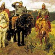 Three Bogatyrs. Victor Vasnetsov