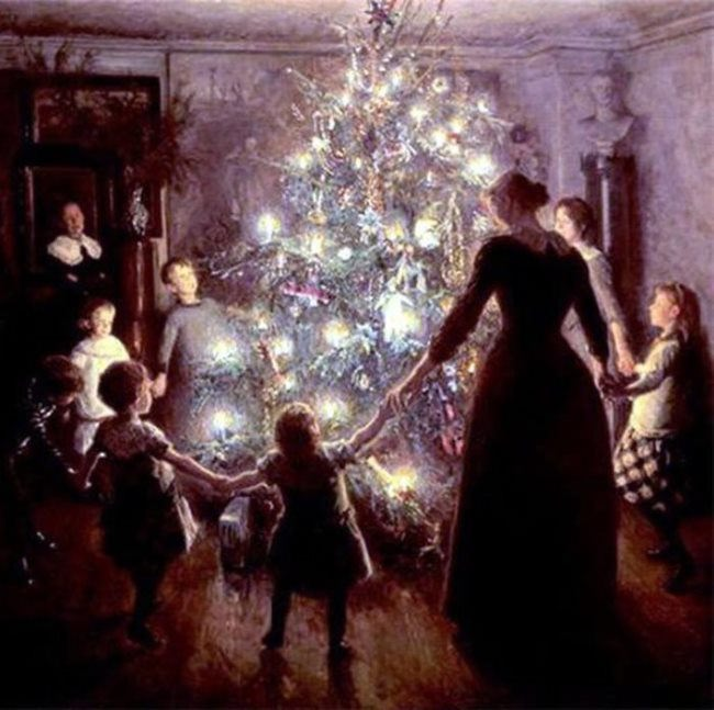 V. Johansen. Happy Christmas, 1891