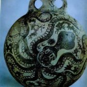 Vase with an octopus