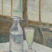 Vincent van Gogh. Still life with absinthe