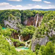 Waterfalls of the Plitvice Lakes, Croatia