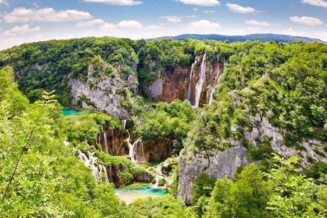 Waterfalls of the Plitvice Lakes, Croatia