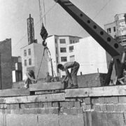 Zimmerstrasse. Wall Construction. September 28, 1961