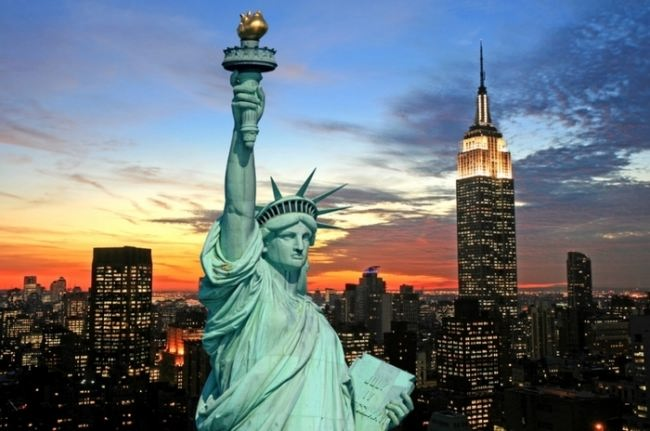 Attractive Statue of Liberty