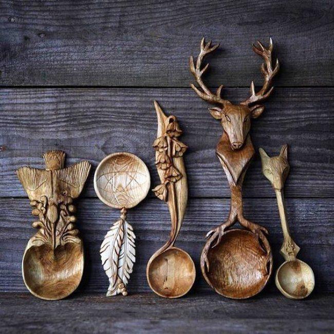 Attractive spoons
