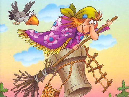 Baba-Yaga - fairy tale character