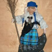 Beautiful Baba Yaga doll
