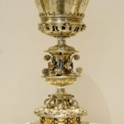 Bowl made for the church of St. John the Baptist in Salinas, Spain