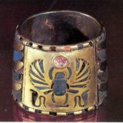 Bracelet with scarab