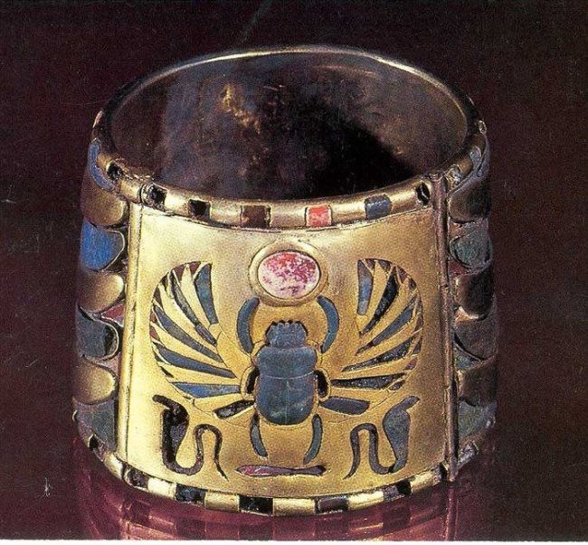 Bracelet with scarab