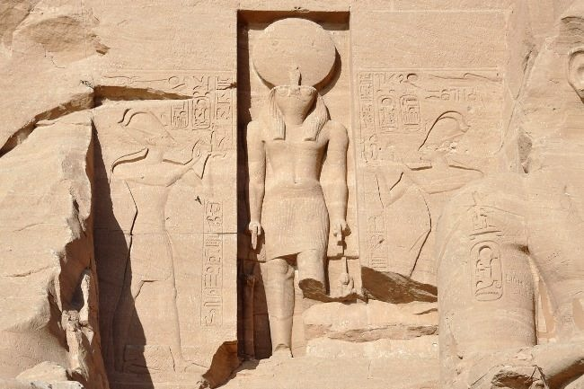 Charming Abu Simbel Temple