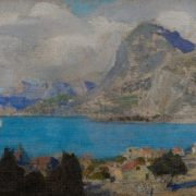 Crimea. Bay and Falcon Mount. 1912, Vasiliy Polenov
