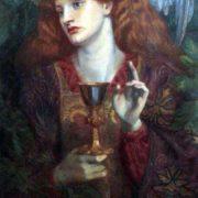 Dante Gabriel Rossetti. The Holy Grail