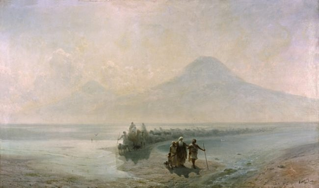 Descent of Noah from Ararat. Ivan Aivazovsky. 1889