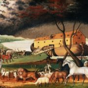 Edward Hicks. Noah's Ark