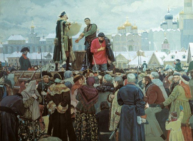 Execution of Emelian Pugachev