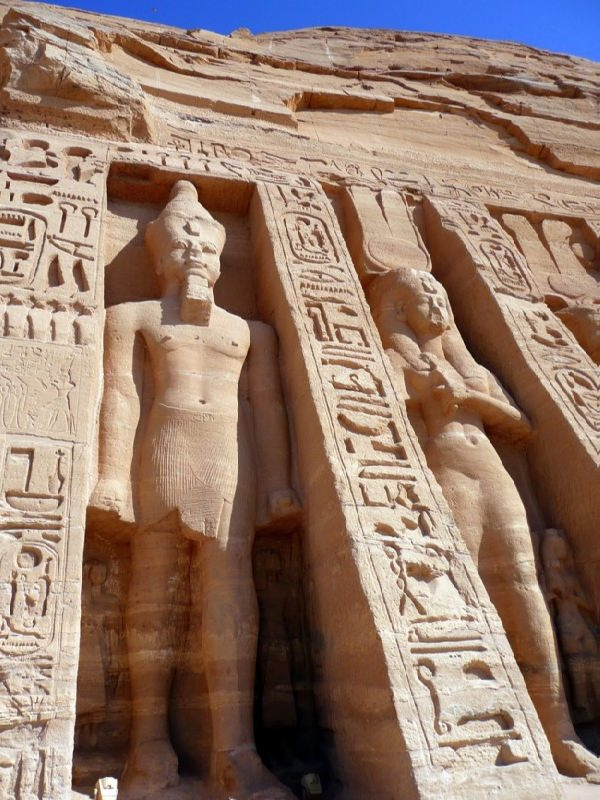 Graceful Abu Simbel Temple
