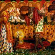How Sir Galahad, Sir Bors and Sir Percival Were Fed with the Sanc Grael
