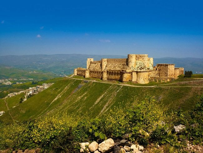 Interesting Krak des Chevaliers