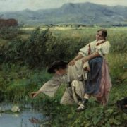 Jaroslav Friedrich Julius Vesin. By The Lilly Pond