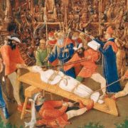 Jean Fouquet, Martyrdom of St. Apollonia