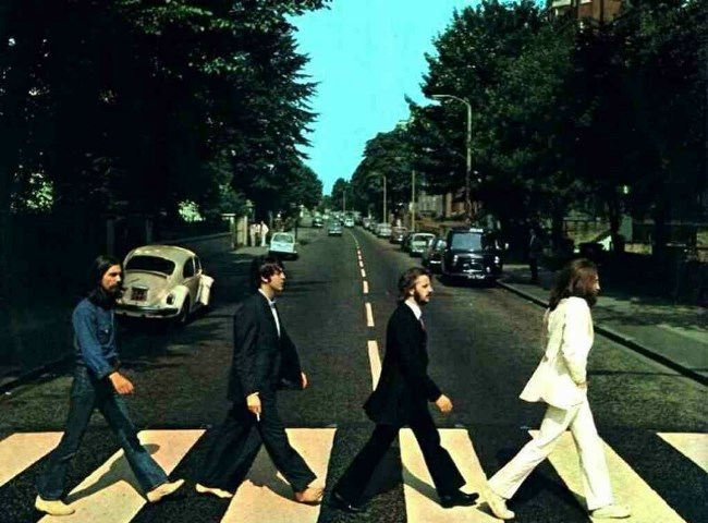 Legendary Liverpool Four, photo was made on August 8, 1969