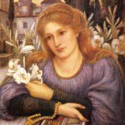 Marie Spartali Stillman. Convent Lily, 1891