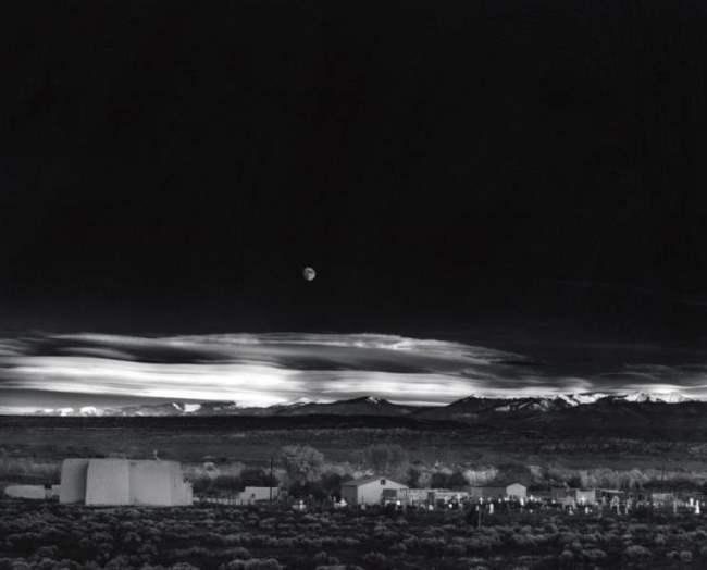 Moonrise, Hernandez, New Mexico, $ 610,000