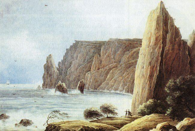 Nikanor Chernetsov. 1834. Crimean landscape