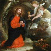 Oracion en el huerto de los Olivos