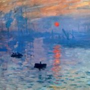 Original - Claude Monet, Impression. Sunrise