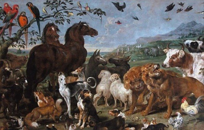 Paul de Vos. Animals from Noah's Ark
