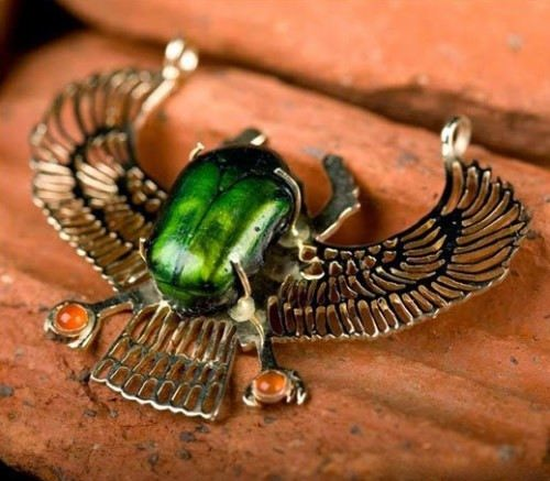 Scarab - sacred symbol of Ancient Egypt