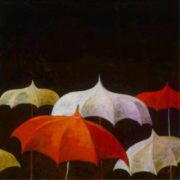 Simon Bull. Umbrellas