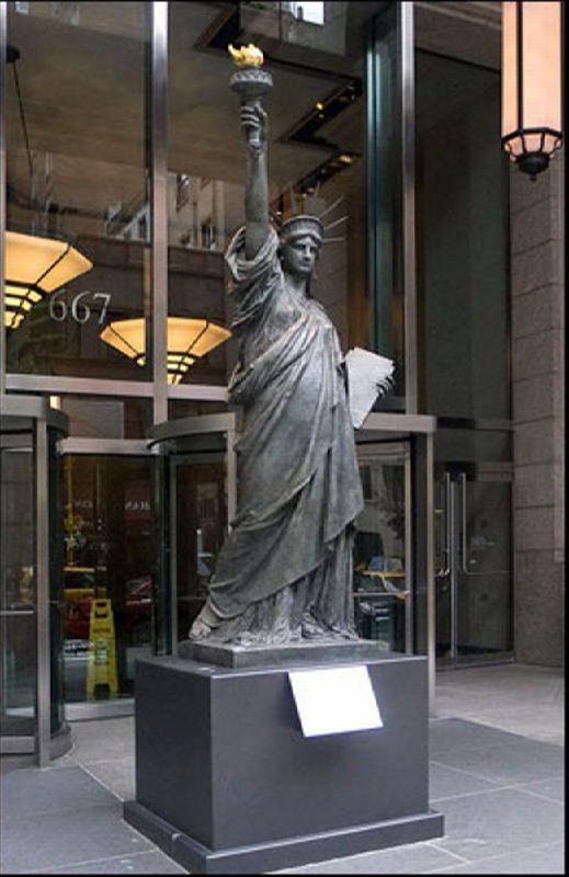 Statue of Liberty on Madison Avenue